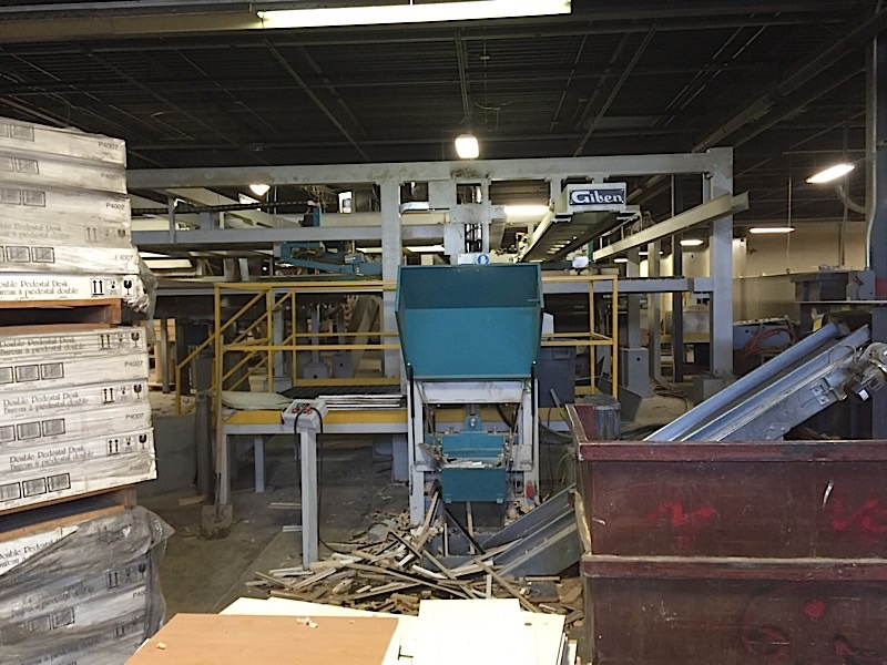 Harlem Laminating Line · (2) Giben (17 SP1) Angular Panel Saws ...