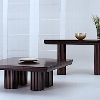 LEDA Park Plaza 21-412 Square Coffe Table and 21-425 Sofa Table.jpg